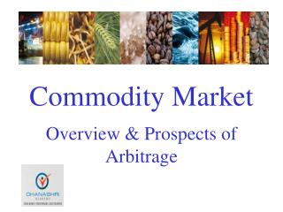 Concept of Commodity Market and Future