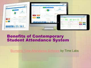 Benefits of Student Attendance System