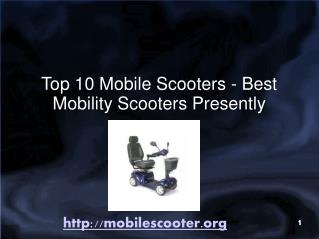 Best Selling Mobile Electric Scooters