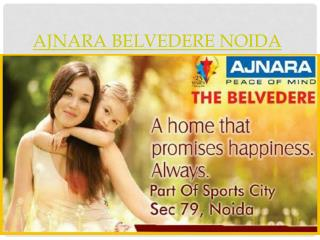 Ajnara Belvedere Noida, flats in sector 79 noida