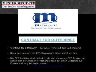 CFD Vergleich