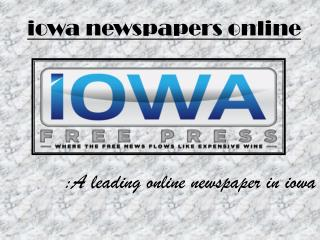 Iowa City Breaking News
