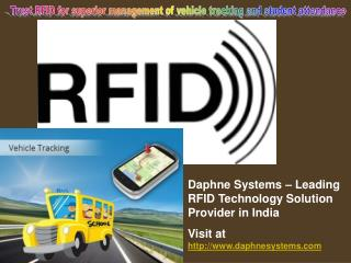 Ppt Rfid Technology And Gps Vehicle Tracking System
