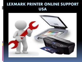 Lexmark Printer Online Support 1-800-824-4013 | Number USA