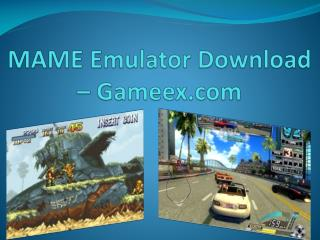 MAME Emulator Download – Gameex.com