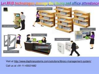 RFID Library Management System, RFID Attendance System