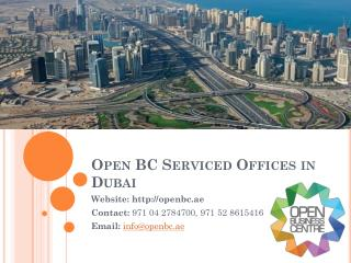 Serviced Offices In Dubai