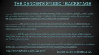 Ballet Studio and Dance School Alpharetta GA