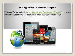 Mobile apps development company india