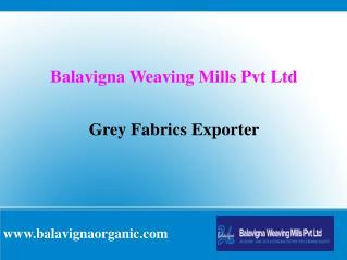 Grey Fabrics Exporter