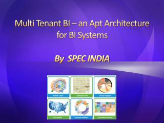 Multi Tenant BI - an Apt Architecture for BI system