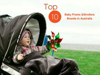 Top 10 Baby Prams & Strollers Brands In Australia