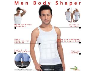 Get Slimmer Look Instantly With Men Slimming Vest