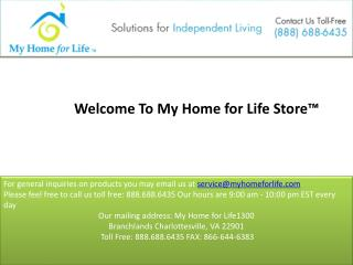 My home for life   independent living