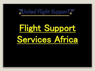 Flight Support Services Africa