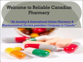 Buy Canadian Generic Drugs Online