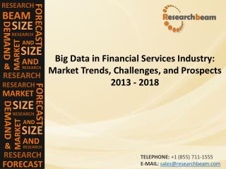 Big Data in Financial Services Industry Market Trends