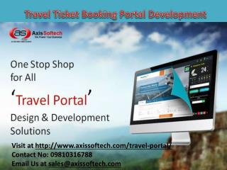 Travel-Ticket-Booking-Portal-Development
