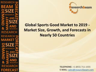 Global Sports Good Market to 2019