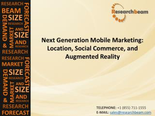 Next Generation Mobile Market