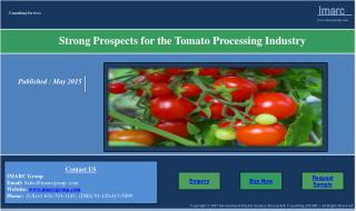 Strong Prospects for the Tomato Processing Industry