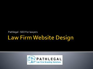 Law Firm Website Design & SEO