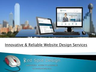Innovative & Reliable Website Design Services