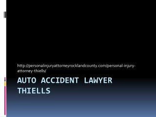AUTO ACCIDENT LAWYER Thiells