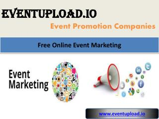 Free Online Event Marketing
