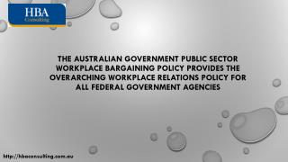 Workplace Relations Training - Australian Government Public