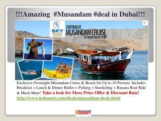 Musandam Deals