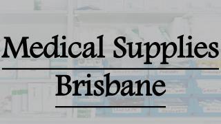 Online Medical Supplies