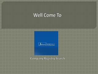 Company Registry Search