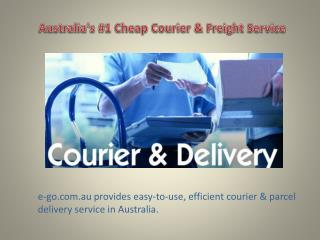 Avail the Affordable and Reliable Freight Delivery Service