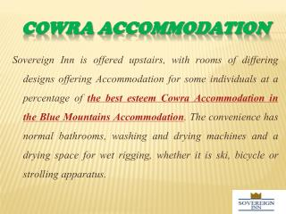 Comfort Accommodation Options to Suit Any Budget