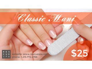 RescueSpa | Manicure Services Philadelphia