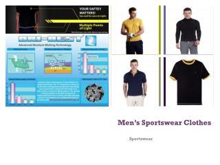 Men's Sportswear Clothes
