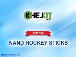Buy Nand Hockey Sticks Online at Best Prices India