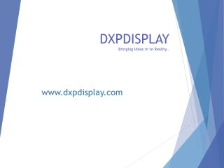 Dxp display | display counters toronto