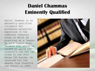Daniel Chammas_Eminently Qualified
