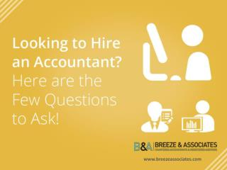 Accountants in Brighton � How to Choose the Right One!