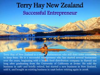 Terry Hay New Zealand_Successful Entrepreneur