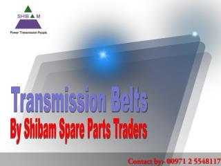 Benefits of Good Quality Transmission Belts