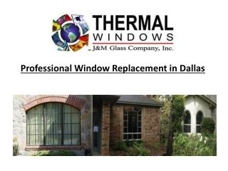 Professional Window Replacement in Dallas