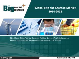 Global Fish and Seafood Market 2014-2018