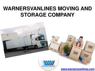 Moving and Storage Services in USA