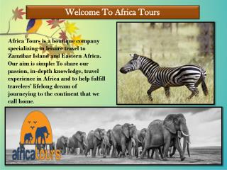 Mafia Island Package- Africa Tours