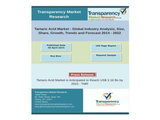 Tartaric Acid Market Research Report
