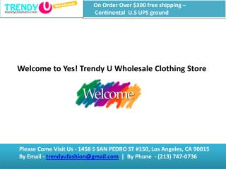 Wholesale Dress