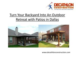 Turn Your Backyard Into An Outdoor Retreat with a New Patio